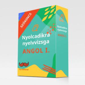 Nyolcadikra nyelvvizsga Angol I. szókincs