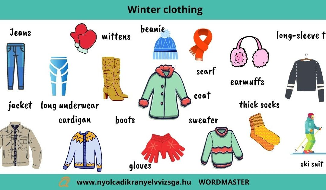 WORDMASTER : Winter clothing